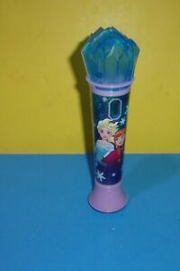 Frozen Sing Along Microphone, Kids Mic with Flashing Lights & Built-In Music