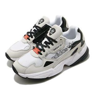 adidas Originals Falcon W White Black Grey Women Casual Lifestyle Chunky H69042