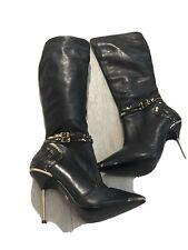 Biba Leather Boots New Size 4