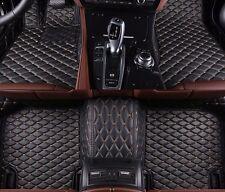 6 Colors Leather Car Floor Mats for Porsche Cayenne 2002-2010 Waterproof Carpets