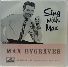 "Max Bygraves ?- Sing With Max 7"" EP UK 1957 pop oldies His Master's Voice"