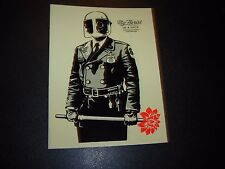 """SHEPARD FAIREY Obey Giant Sticker 4.75"""" MY FLORIST IS A DICK from poster print"""