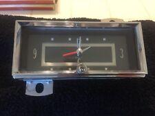 1956 Cadillac Dashboard Clock
