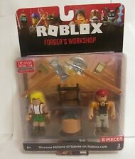 Roblox Celebrity Figure Accessories Forger's Workshop Core Pack W/ Virtual Code