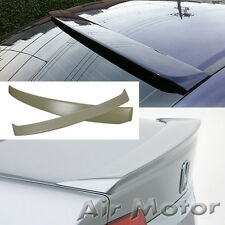 Unpainted Honda Civic 8th JDM Sedan Factory Rear Roof Spoiler + Trunk Wing