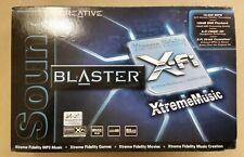 NEW Creative Sound Blaster X-FI XtremeMusic 7.1 Sound Card SB0460 - SEALED