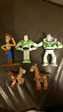 Disney Toy Story bundle x 5 Buzz, Woody, Bullseye Plastic figures collectable