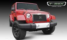T-REX X-Metal Series Grille 1 Piece 2007-2016 Jeep Wrangler JK JKU 6714831 Black