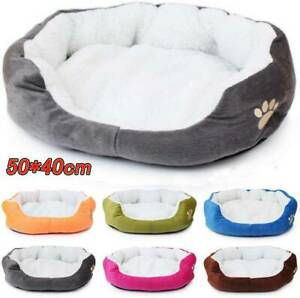 Pet Dog Winter Warm Soft Dog Cat Bed Puppy Mat House Washable Kennel Pet Cushion