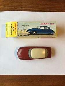 DS 19 Citroen Ref : 530 Dinky Toys