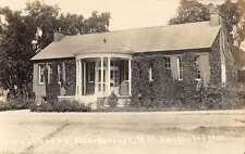 Peterborough New Hampshire Town Library Exterior Real Photo Antique PC K25392