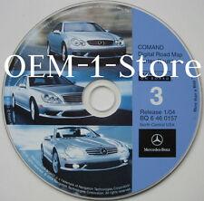 01 02 2003 MERCEDES S55 S430 S500 S600 NAVIGATION DISC CD 3 IA KS MN WI MO IL MI