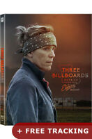 Three Billboards Outside Ebbing Missouri Blu-ray Steelbook Lenticular