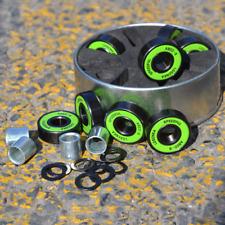 608 rs Skatebaord Bearing Abec-9 Longboard Wheels Bearing With Spacers&Washers