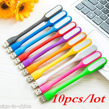 10PCS* Flexible USB LED Light for Computer Keyboard Reading Laptop Notebook