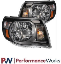 ANZO For 05-11 Toyota Tacoma Crystal Headlights Black 121191