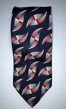 Kenneth Gordon Nordstrom Men Neck Tie Silk Hand sewn & Printed in Italy - USA