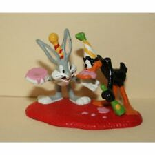 1995 Applause DecoPac Looney Tunes Birthday Bugs Bunny & Daffy Duck PVC