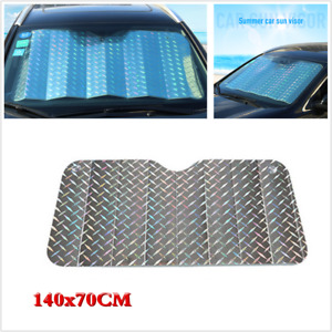 Car Windshield Laser Visor Cover Window Sun Shade Protector Foldable 140 X 70CM