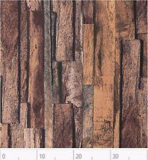 Dekostoff bedruckt, Rips, Swafing, Tango, Holzoptik, Braun, Rest 35x140 cm