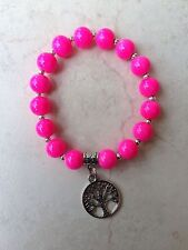 Pink Beaded Fashion Bracelets