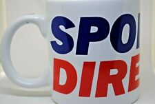 Large Coffee / Tea MUG with SPORTS DIRECT 24Hr Delivery Logo Ideal for Display