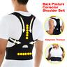 Upper Back Posture Corrector Shoulder Lumbar Support Magnetic Brace Belt Unisex