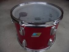 70's Ludwig Red Sparkle 10 x 14 tom Blue and Olive badge Nice!