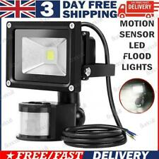 More details for new outdoor led floodlight pir motion sensor 10-100w garden security flood light