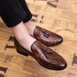 Men Leather Shoes Men Loafers Shoes Comfortable Mens Loafers Shoes Men Shoes