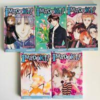 Imadoki Manga Vol 1-5 COMPLETE SET!! Viz LOT IN ENGLISH