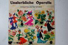 Unsterbliche Operette Maske in Blau Madame Pompadour Paganini Viktoria und(LP21)
