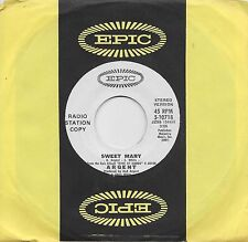 ARGENT  Sweet Mary  rare promo 45 from 1971  THE ZOMBIES