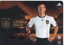 Autogramm - Lukas Podolski (DFB AK 2010)