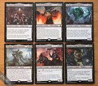 6x Dominaria Legendary Black Creatures Lot of 6 *NM+* (Magic MTG Commander EDH)