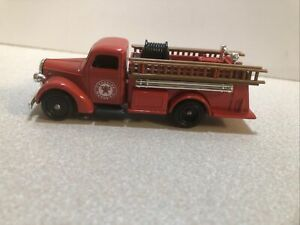 Lledo Promotional Texaco Fire Engine 1/87 Scale