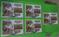 Lot of 5 Drew Brees 2015 Score Football Franchise Inserts #8. New Orleans Saints