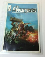 "1986 Comic Aircel #1 Premiere Issue of ""The Adventurers"""