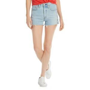 Levi's California Womens Denim Frayed Hem High Rise Cutoff Shorts BHFO 3178