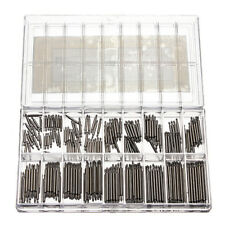 360Pcs 8-25mm Stainless Steel Watch Wrist Band Spring Bars Strap Link Pin Repair