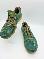 HUK Attack Performance Fishing Shoes sz US 10 Men's Fish Water GREEN NEW