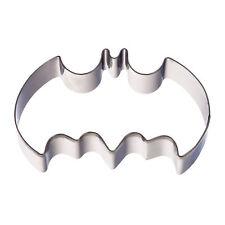 Ausstechform Batman Kuchen Deko Plätzchen Teig Keks Ausstecher Förmchen Metall