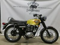 1969 BSA B25 T25S 250 Trophy Starfire   1450  FREE SHIPPING TO ENGLAND   UK