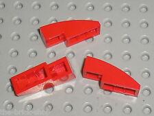 LEGO Red Slope Brick Curved ref 50950  / Set 8671 4955 8156 8143 8155 8142 8153