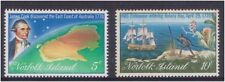 (K123-32) 1970 Norfolk Island 2set of Cook's bicentennial part2 stamps (AG)