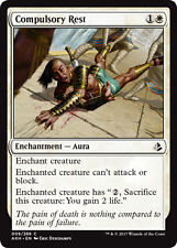 4x Compulsory Rest (Zwangspause) Amonkhet Magic