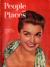 1956 De Soto PEOPLE and PLACES Magazine April 1956 Esther Williams Little Ricky