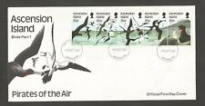 ASCENSION ISLANDS 1987 SEA BIRDS 1ST SERIES FDC SG,442-446 LOT 5574A