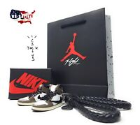 Nike Air Jordan 1 TRAVIS SCOTT CACTUS 3D Keychain - Single/Gift Set w/ Box/Bag