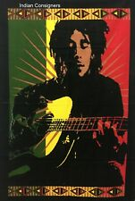 wall Hanging Poster Multi color Bob marley Home Decor Beautiful Color Indian Art